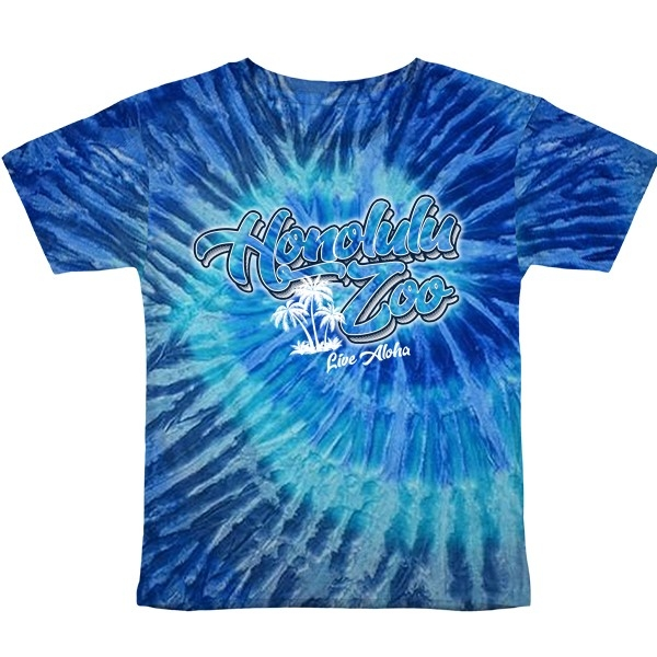 YOUTH SHORT SLEEVE AIRBRUSH SCRIPT-BLUE JERRY