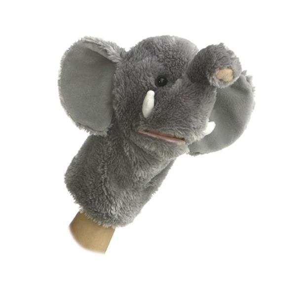 TUSK THE PLUSH ELEPHANT PUPPET