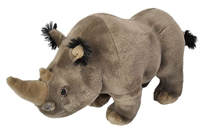 WHITE RHINO PLUSH
