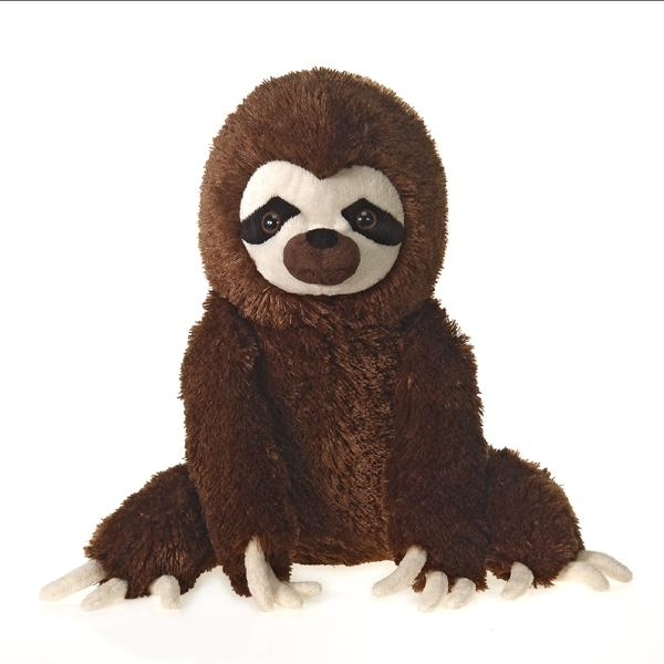 SLOTH SITTING PLUSH