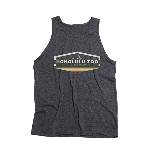 ADULT UNISEX TANK SPRINTER-HEATHER CHARCOAL