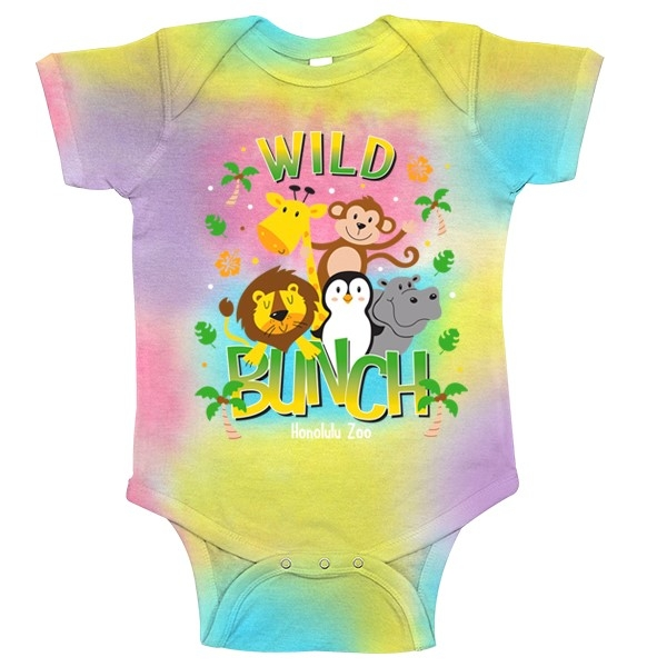INFANT ROMPER WILD BUNCH-PASTEL