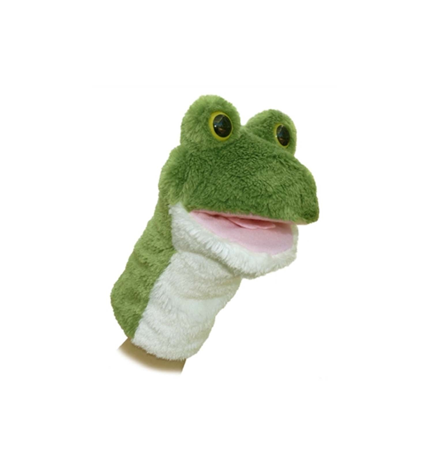 LILY THE PLUSH FROG PUPPET