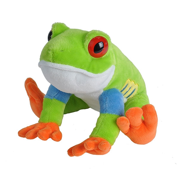 RED EYE TREE FROG PLUSH