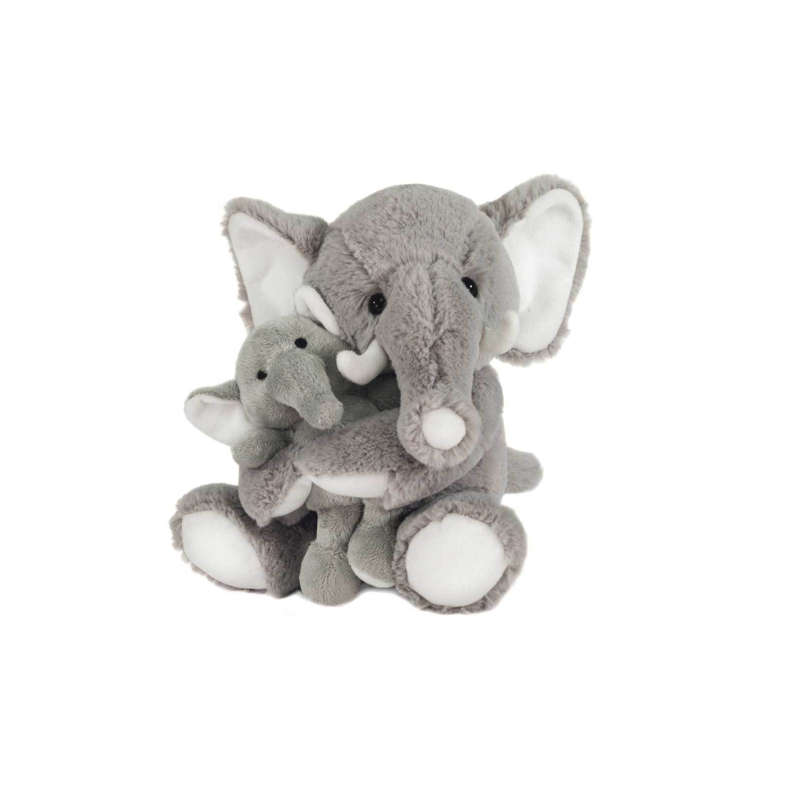 MOM & BABY PLUSH ELEPHANTS