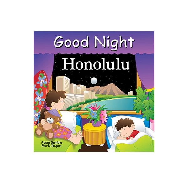GOOD NIGHT HONOLULU BOARD BOOK
