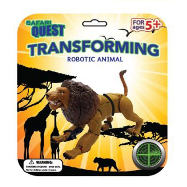 SAFARI QUEST TRANSFORMING LION