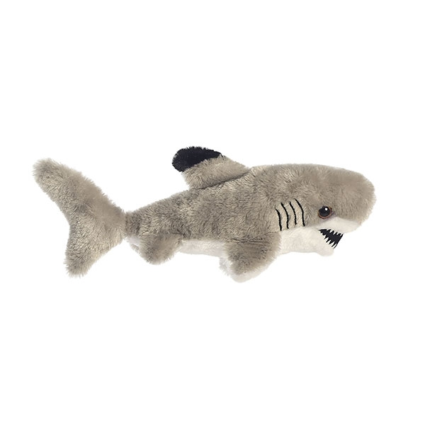 LITTLE REEF BLACK TIP SHARK MINI FLOPSIE PLUSH