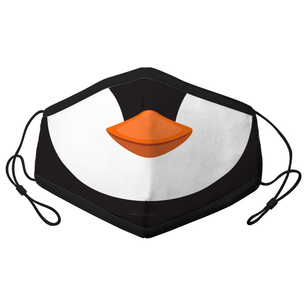 YOUTH ADJUSTABLE FACE PENGUIN MASK