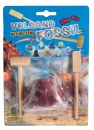FOSSIL VOLCANO