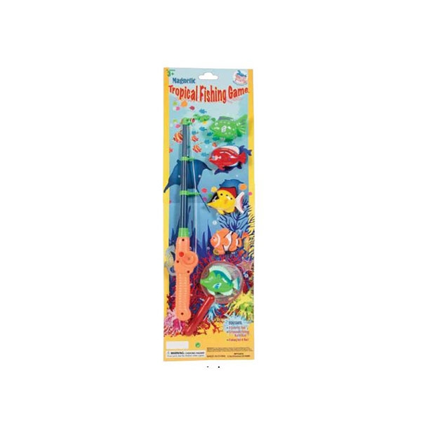 TROPICAL FISH MAGENTIC FISHING GAME