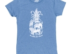 ADULT LADIES SHORT SLEEVE TEE VICTORY LAP ZOO-HEATHER ROYAL